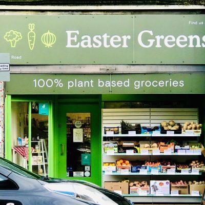 エディンバラで初のヴィーガン専門スーパー、Easter Greens